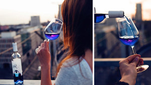 Blue Wine Is A Thing Now