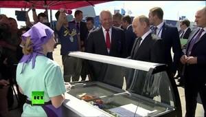 Мороженки не хочеш,да,Путин угощает))