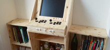 We Built A Wooden Arcade Machine For Our Living Room