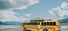 We Turned An American School Bus Into A Hostel On Wheels