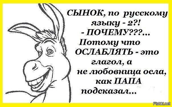 Анекдот Про Льва И Осла