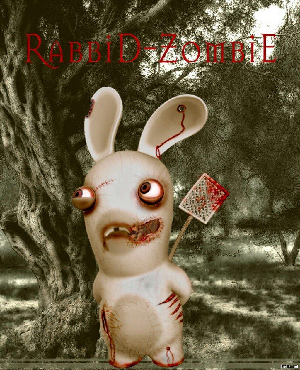 Кролик зомби картинки
